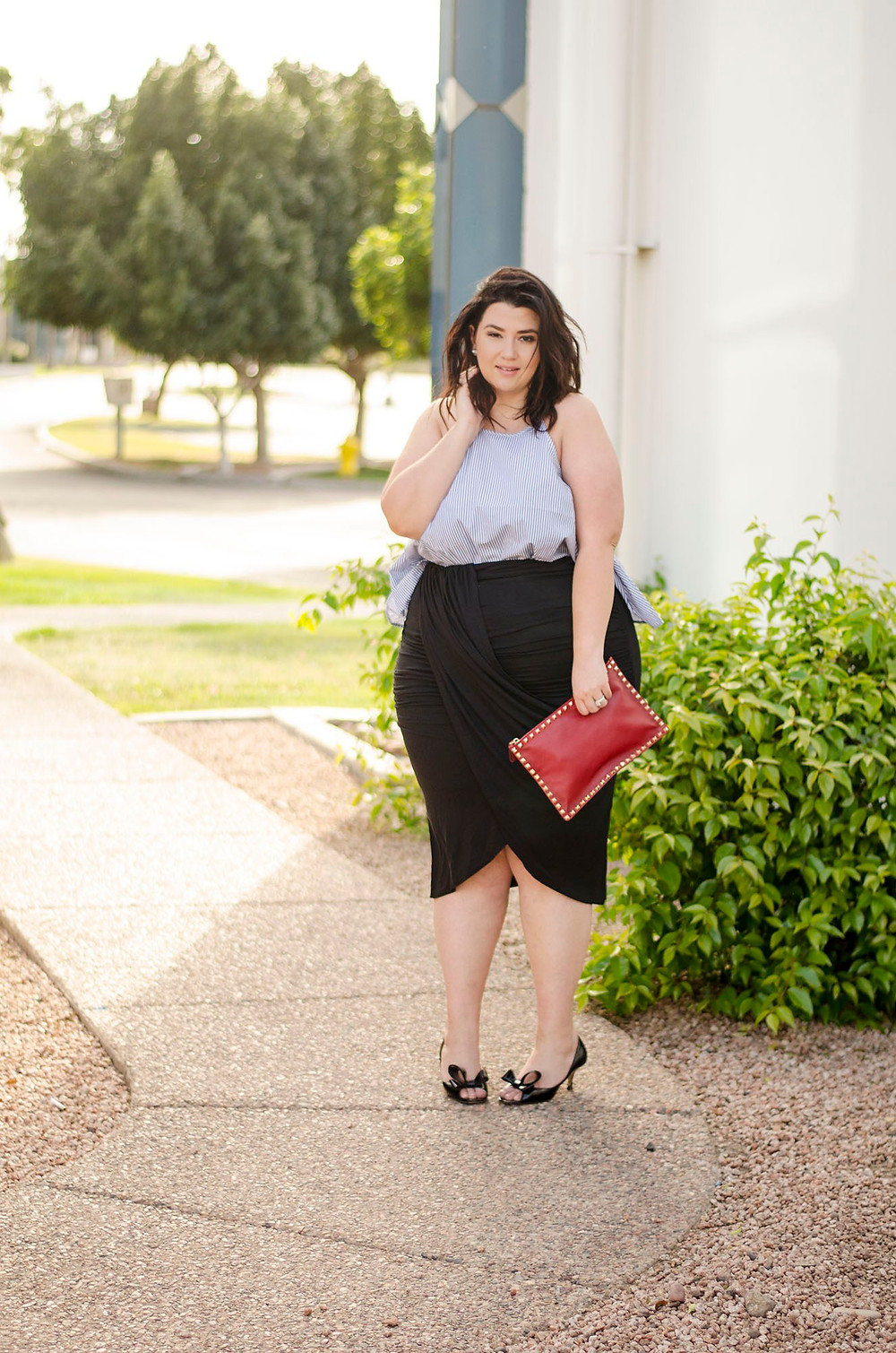 eloquii plus size skirt plus size fashion crystal coons plus size black skirt sometimes glam phoenix az blogger