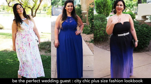 plus size wedding guest formal gown dress event maxi dress city chic summer wedding what to wear to a summer wedding plus size