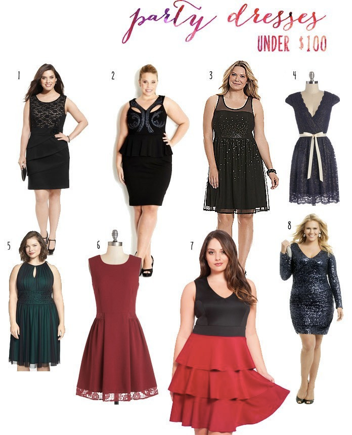 plus size holiday party dresses under 100 holiday christmas Hanukkah