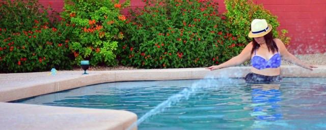 crystal coons swim suit fatkini plus size fashion blogger