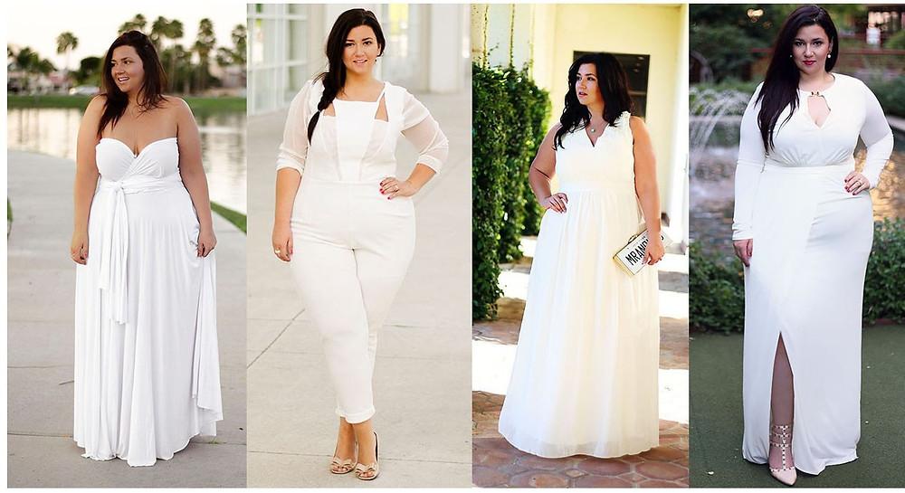 plus size honeymoon swimsuit white swimsuit monif c