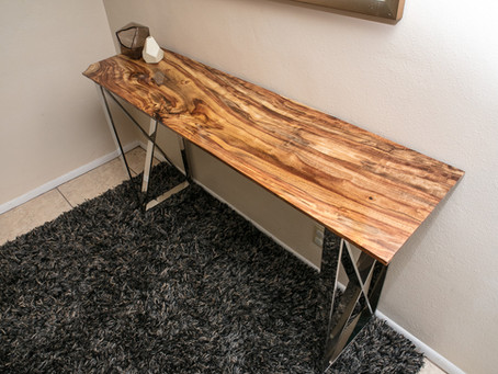 New Rosewood Console Table