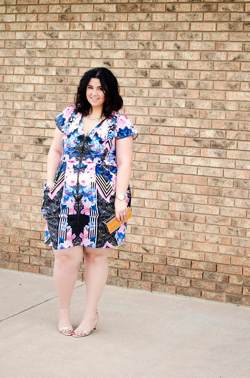 plus size ootd tunic short dress city chic