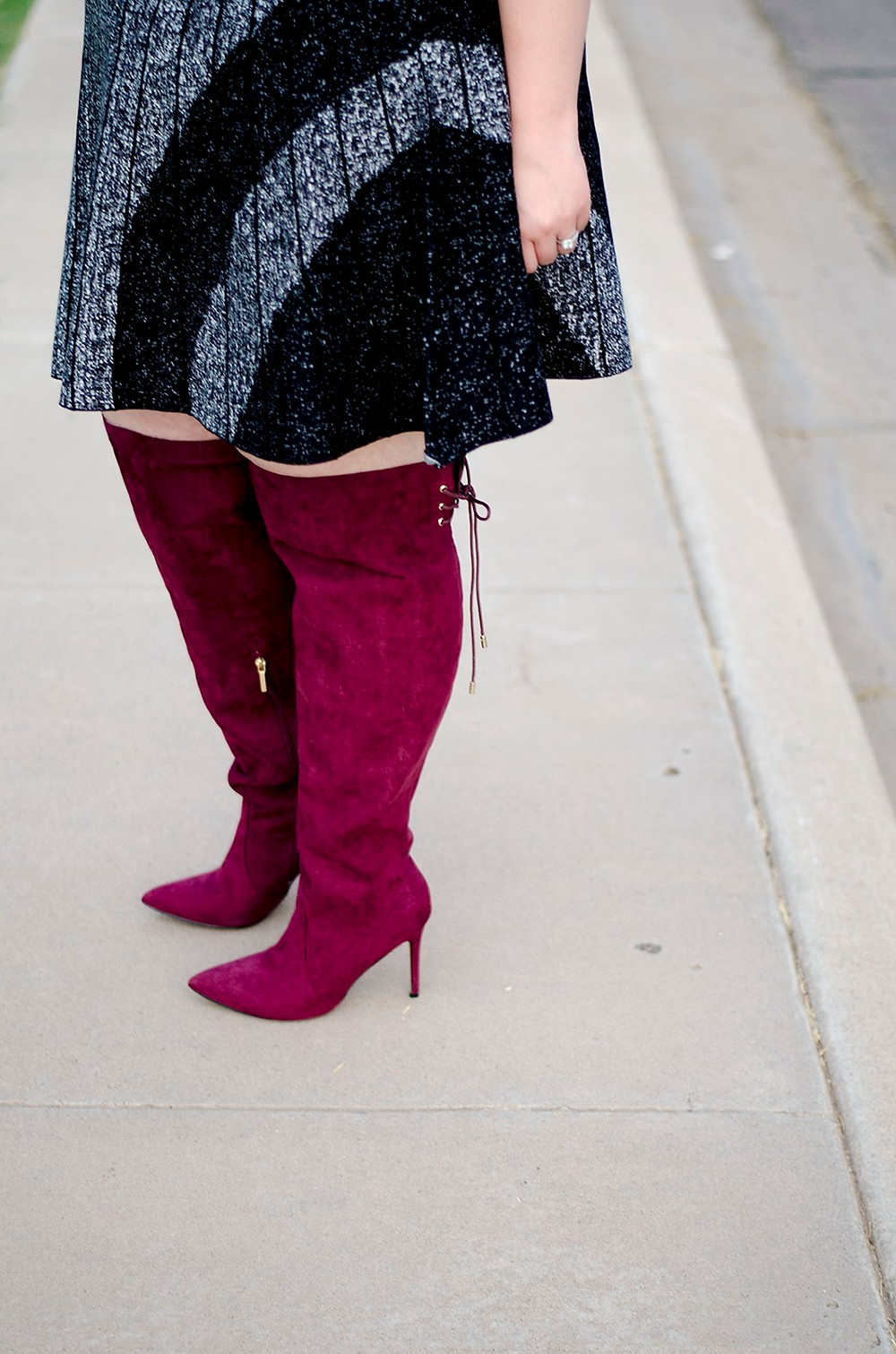 plus size fall over the knee boots sexy nic and zoe plus size work