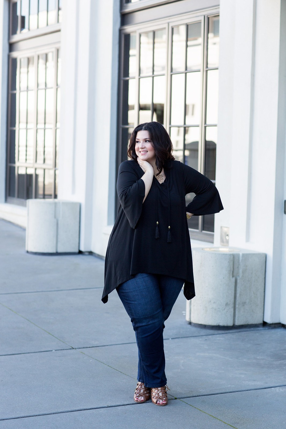 catherines plus size ootd crystal sometimes glam san francisco china town lombard street alamo union square