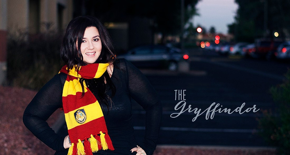 gryffindor scarf harry potter geeky scarf