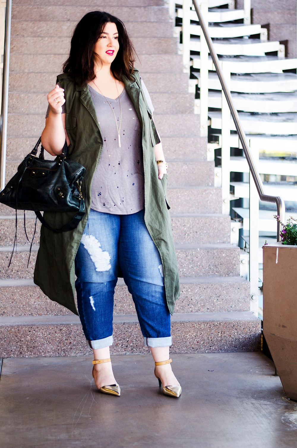 crystal coons target who what wear plus size ootd chic casual what to wear weekend plus