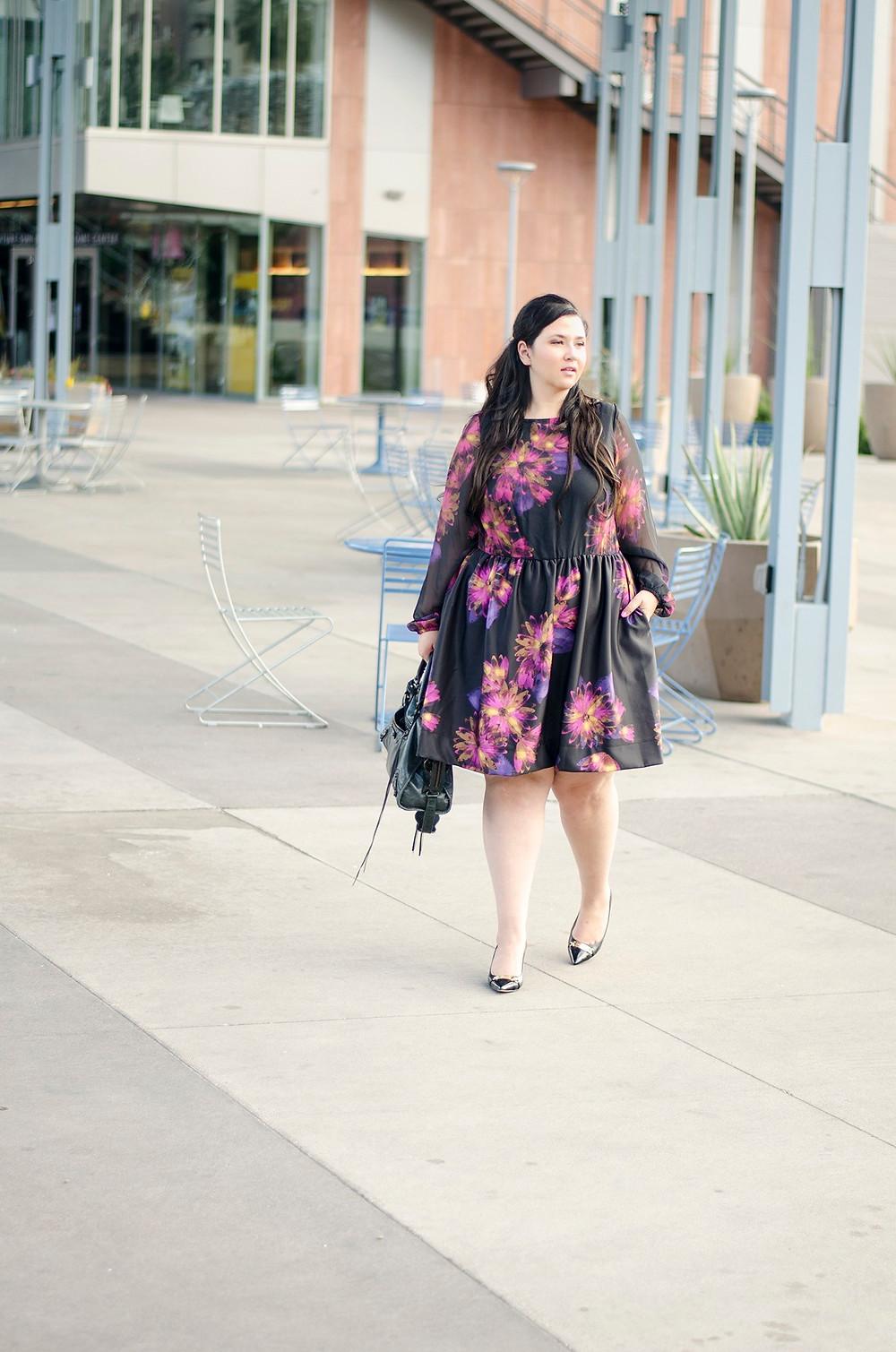 nieman marcus last call plus size dress ootd crystal coons work dress melissa masse