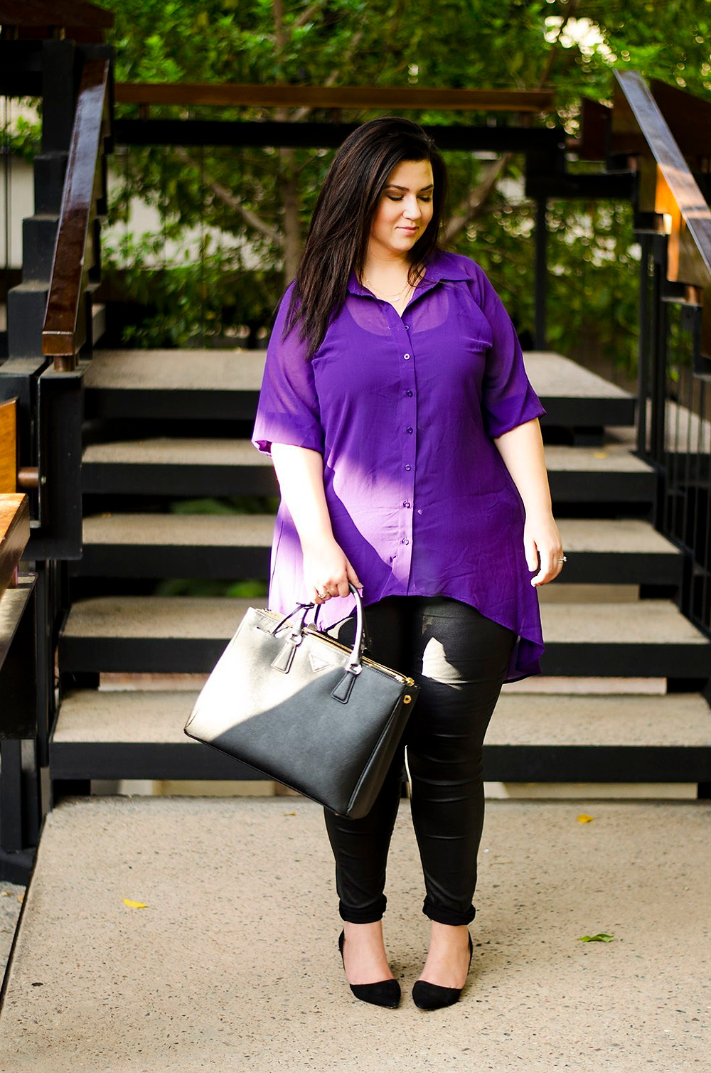 plus size leather jeans crystal coons city chic fall 2015