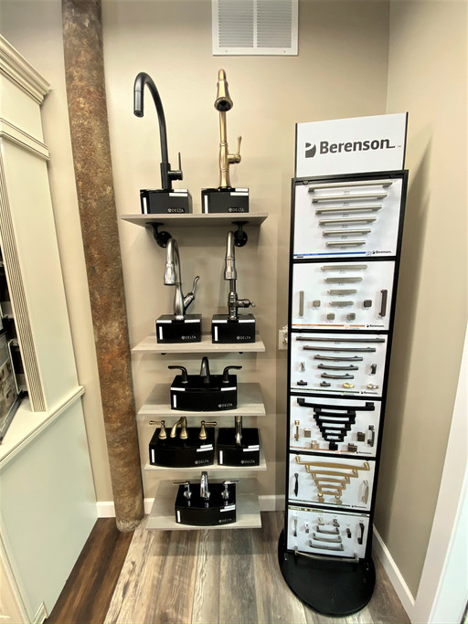 Faucets and Hardware Displays