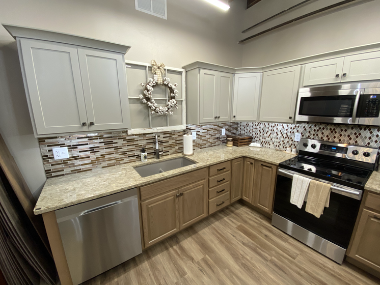 Entra Cabinetry Display