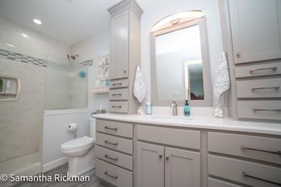 Vanity cabinetry