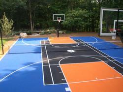 Silicon basketball Flooring