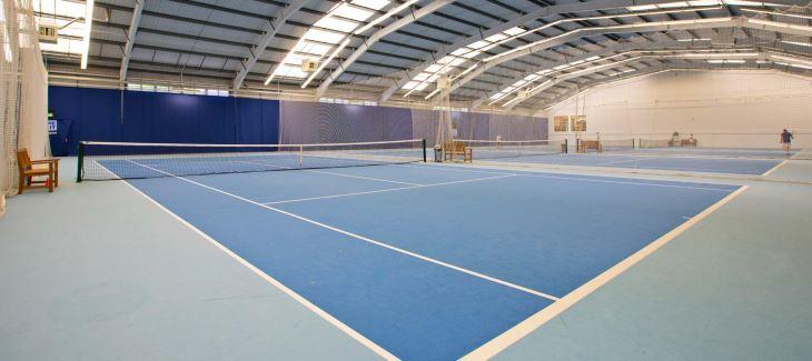 Acrylic hard court tennis