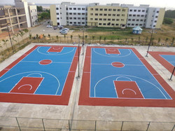 Silicon Basketball court flooring