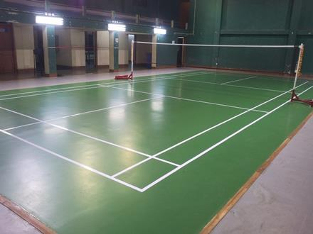 Volleyball - Basketball Court Indoor