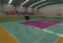 Volleyball - Basketball Court Indoor