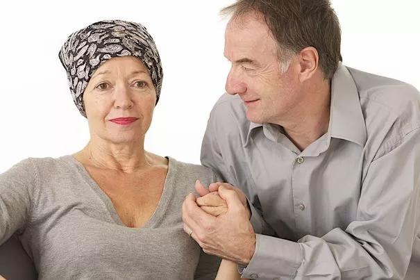 couple cancer sein