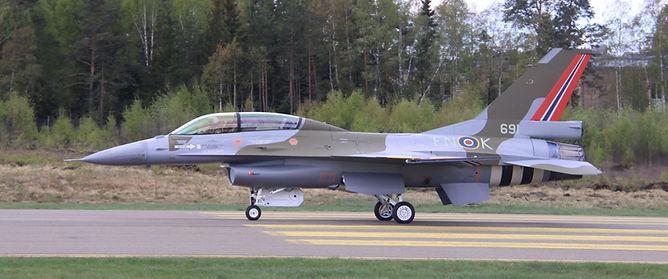 Foto_ Erik Bekkevold. F-16BM FN-K aka #6