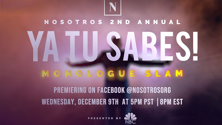 2nd Annual Ya Tu Sabes Monologue Slam presented by NBC  (1)