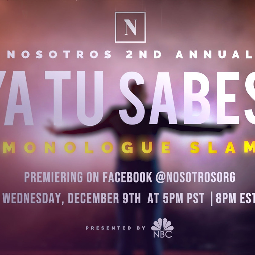 2nd Annual Ya Tu Sabes Monologue Slam presented by NBC  (1)