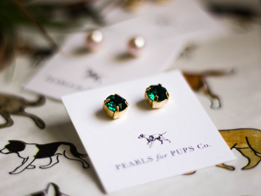 Product Review: Pearls for Pups earrings