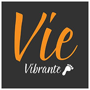 Vie Vibrante Logo for knee brace (small)