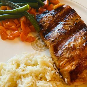 Easiest 4 Ingredient Salmon
