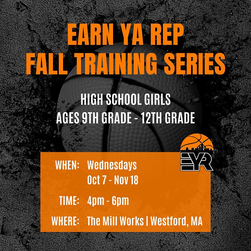 Fall Training Series: High School Girls