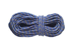 Coiled Climbing Rope