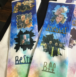 Ridiculously Crazy Photo Socks