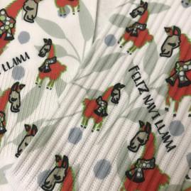 Feliz Navi Llama Socks