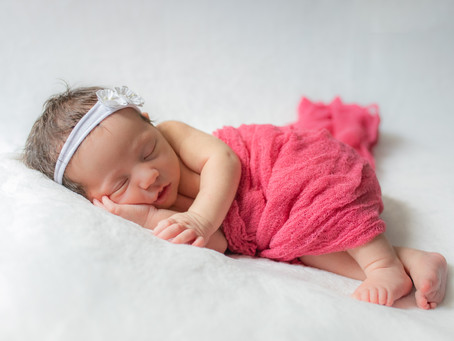 Welcome Baby Brielle! | In-Home Lifestyle Newborn Session