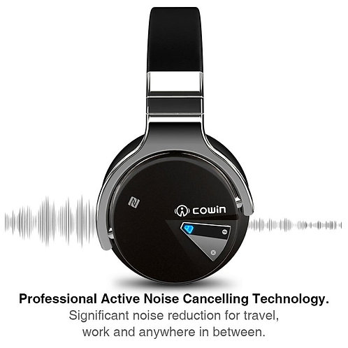 Original Cowin E7 ANC Bluetooth Headphone Wireless Bluetooth Headset Earphone