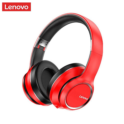 Lenovo HD200 Bluetooth Earphones Over-Ear  Foldable with  Noise Cancellation