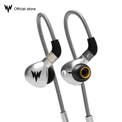 Whizzer A15 HiFi Bass Earphones Metal in Ear Earphone Dynamic Hi-Res Earbuds