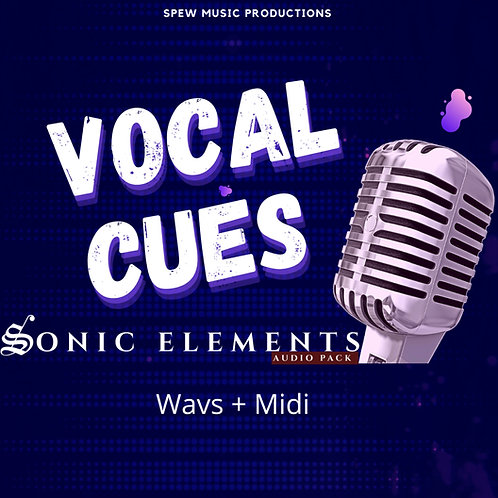 Sonic Elements - Vocal Cues