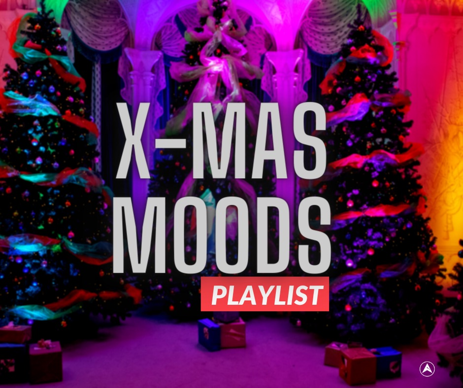 CHRISTMAS PLAYLIST COVER
