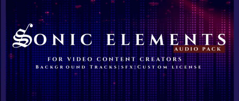 SONIC ELEMENTS AUDIO PACK