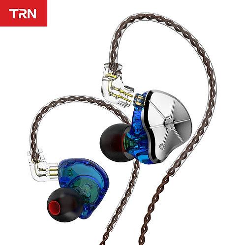 TRN STM 1DD 1BA Hybrid in Ear Earphone HIFI DJ Monitor Running Sport Earphone