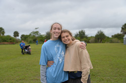 Greta and Megan