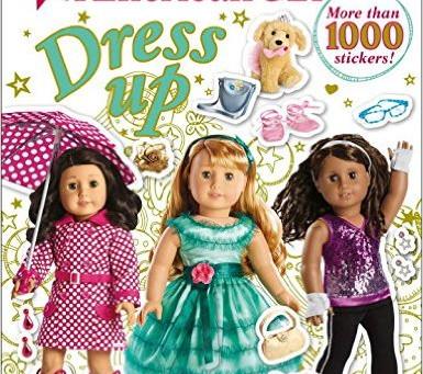 New American Girl DK Book Cover!