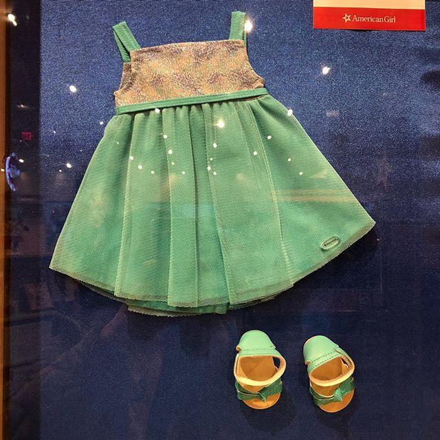 Blue Sea Dress and Crisscross Sandals