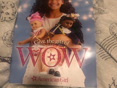 American Girl Holiday Wishbook