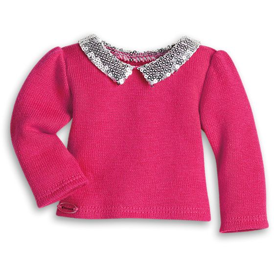 SequinCollarSweater