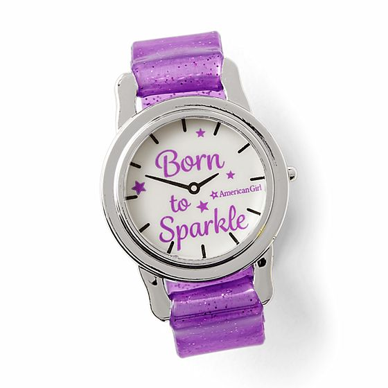 Time to Sparkle Watch- $8
