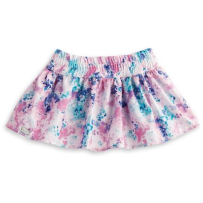 American Girl Doll Truly Me Playful Print Skirt, American Girl Truly Me Skirts, American Girl Doll Tie-Dye Looks, American Girl Tie-Dye Skirt, American Girl Doll Truly Me Mix And Match Collection, American Girl Doll Isabelle Palmer Girl of the Year 2014 Mix-And-Match Collection