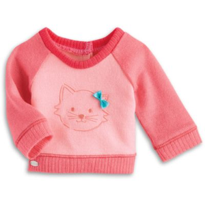 American Girl Doll Kitten Sweater Truly Me, American Girl Kitten Sweater, American Girl Kittens, American Girl Agnes Despicable Me Doll, American Girl Doll Kittens, American Girl Doll Sweaters, American Girl Doll Mix And Match Collection Truly Me, Isabelle Palmer Girl Of The Year 2014 Mix And Match Collection