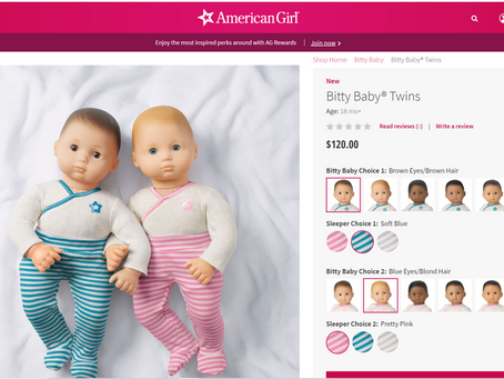 American Girl Bitty Twins: Are They Back?
