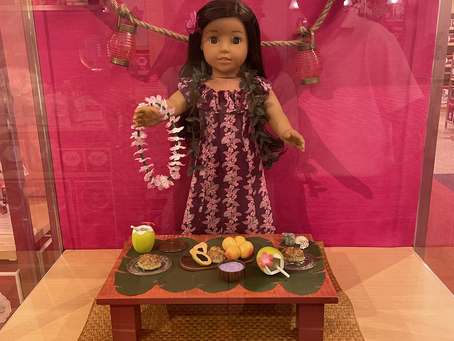 American Girl Store Christmas Pictures